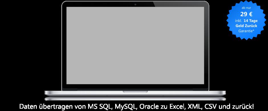 Dbtransfer Exportimport Von Sql Server Zu Excel Und Xml